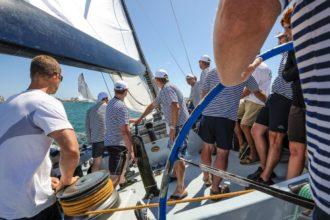 firemní regata - jachting, teambuilding na moři