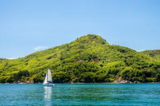 ostrov Praslin - Seychely