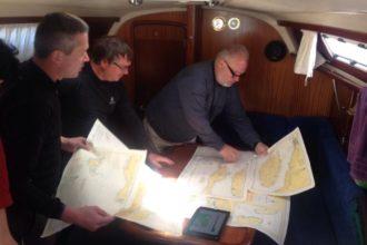 teambuilding na moři, sailing