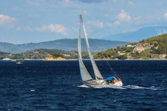 plachetnice Řecko