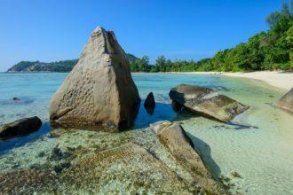 Seychely, zátoka Anse Coco